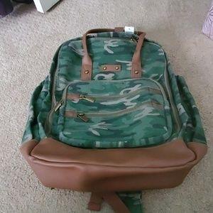 A Camo Backpack